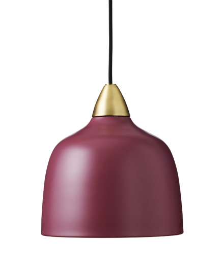 Bordeauxrote Deckenlampe von Superliving.
