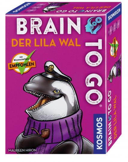 Brain To Go. Der lila Wal.