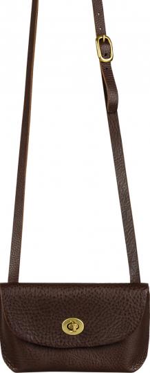 Braune Abendhandtasche »Georgia Bag«.