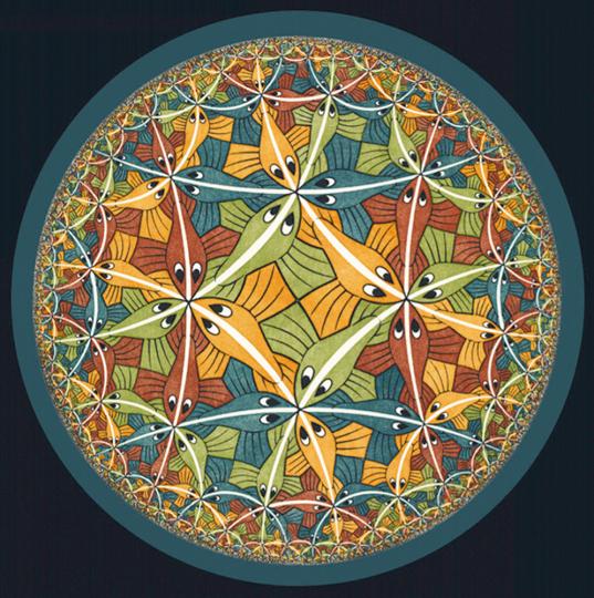 Briefbeschwerer M.C. Escher