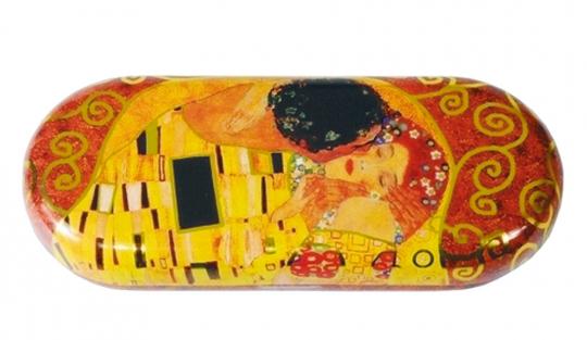 Brillenetui Klimt »Der Kuss«.