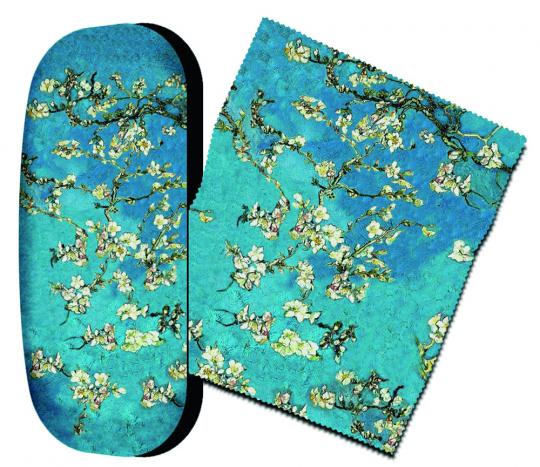 Brillenetui Vincent van Gogh »Mandelblüte«.