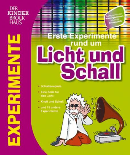 Brockhaus Erste Experimente rund um Licht und Schall