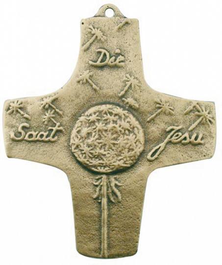 Bronze Kreuz - Die Saat Jesu