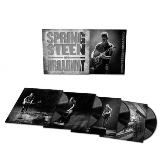 Bruce Springsteen. Springsteen On Broadway. 4 LPs.