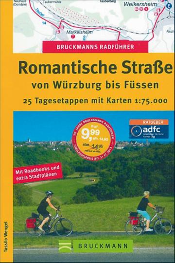 Bruckmanns Radführer - Romantische Straße