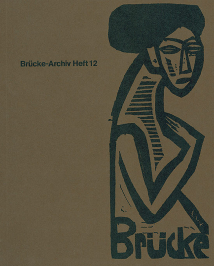 Brücke-Archiv. Heft 12. Walter Gramatté 1897-1929. Eine Auswahl seiner Briefe, 1981/82.