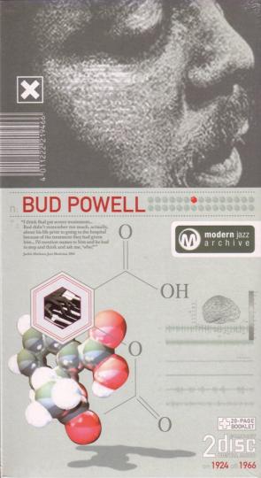 Bud Powell. Tempus Fugit / Parisian Thorough. Classic Jazz Archive. 2 CDs.