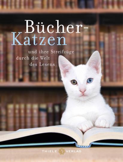 Bücher-Katzen und ihre Streifzüge durch die Welt des Lesens.