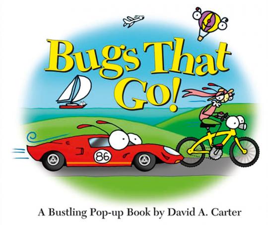 Bugs that Go! Ein lebendiges Pop-Up-Buch.