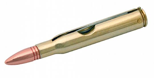 Bullet Knife / Taschenmesser in Form einer Patronenhülse