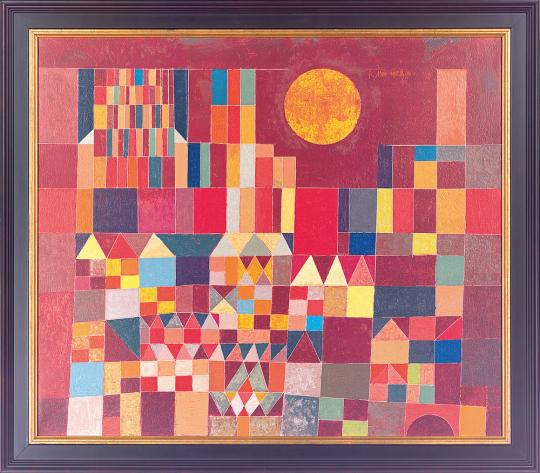 Burg und Sonne Paul Klee (1879-1940).