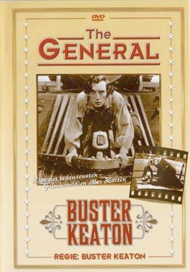 Buster Keaton. Der General. DVD.