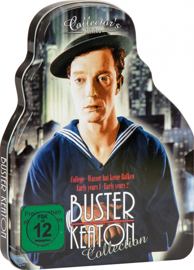 Buster Keaton. Collector's Edition in Metallbox. DVD.