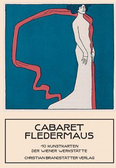 Cabaret Fledermaus. 10 Kunstkarten der Wiener Werkstätte.