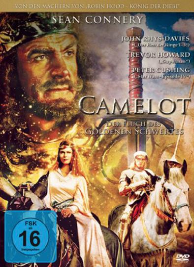 Camelot. Fluch des goldenen Schwertes. DVD.