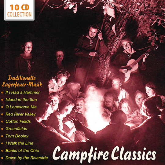 Campfire Classics. Traditionelle Lagerfeuer-Musik. 10 CDs.