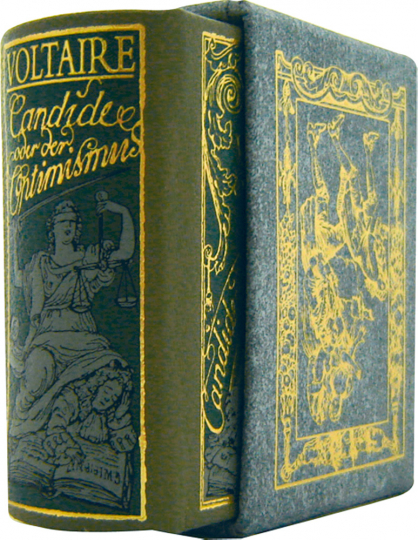 Candide oder der Optimismus - Leder-Mini-Ausgabe im Schmuckschuber