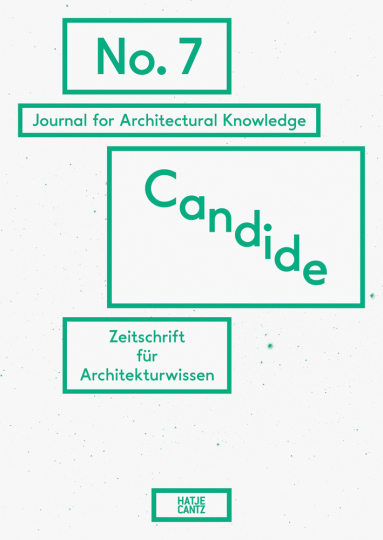 Candide. Journal for Architectural Knowledge. No. 7.