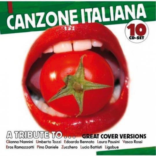 Canzone italiana. A Tribute to Italia. Coversongs. 10 CDs.