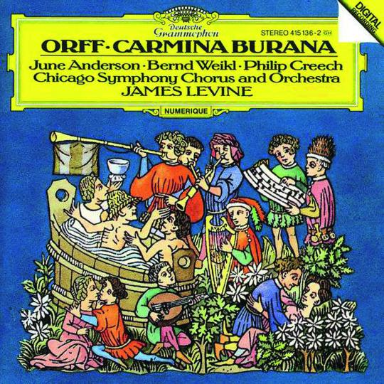 Carl Orff. Carmina Burana. CD.