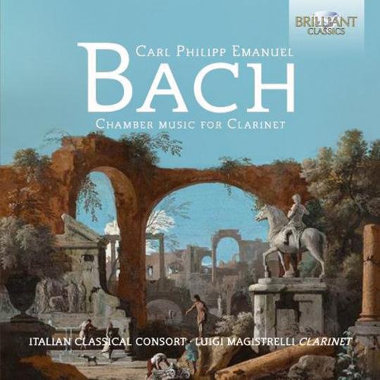 Carl Philipp Emanuel Bach. Kammermusik mit Klarinette. CD.