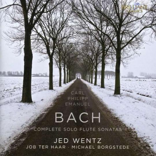 Carl Philipp Emanuel Bach. Sämtliche Flötensonaten. 2 CDs.