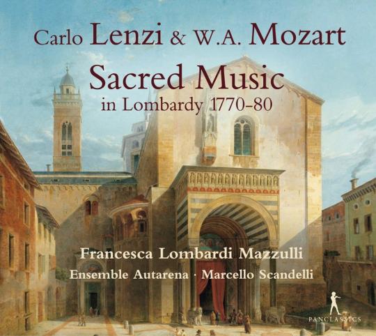 Carlo Lenzi. Lamentaziones I & II. Sacred Music in Lombardy 1770-1780. CD.