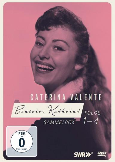 Caterina Valente Bonsoir Kathrin 4 DVDs