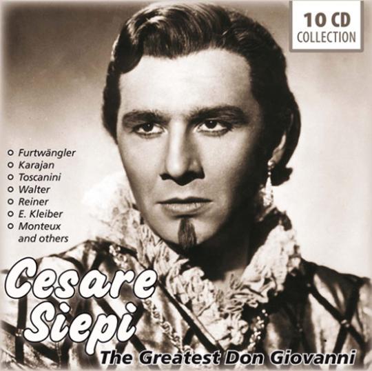 Cesare Siepi. Der größte Don Giovanni aller Zeiten.