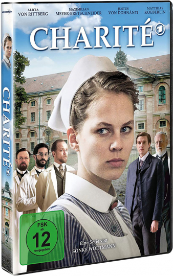 Charité Staffel 1. 2 DVDs.