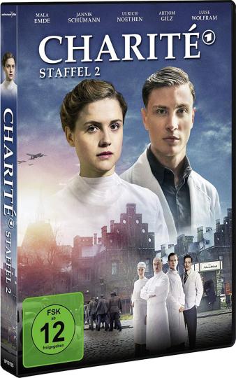 Charité Staffel 2. 2 DVDs.