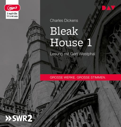 Charles Dickens. Bleak House 1. 2 mp3-CDs.