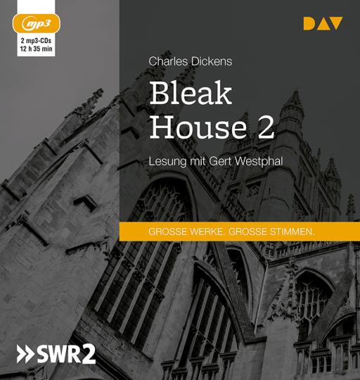 Charles Dickens. Bleak House 2. 2 mp3-CDs.