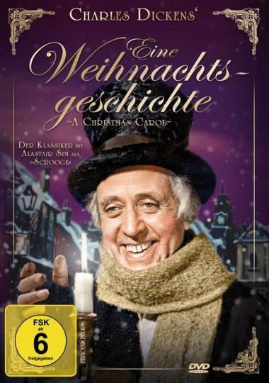 Charles Dickens. Eine Weihnachtsgeschichte. DVD.