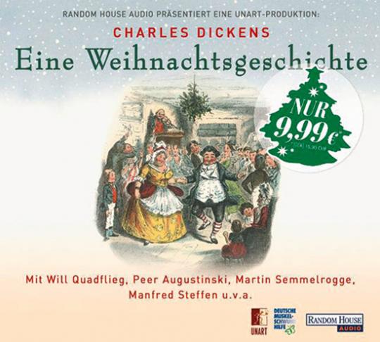 Charles Dickens. Eine Weihnachtsgeschichte. Hörspiel. 1 CD.
