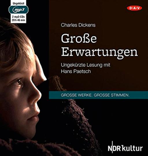 Charles Dickens. Große Erwartungen. Hörbuch. 2 CDs.