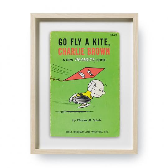Charles M. Schulz. Go Fly A Kite, Charlie Brown. Erstausgaben Buchcover. Kunstdruck.