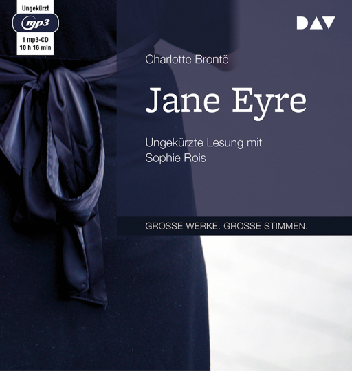 Charlotte Brontë. Jane Eyre. Ungekürzte Lesung. 1 mp3-CD.