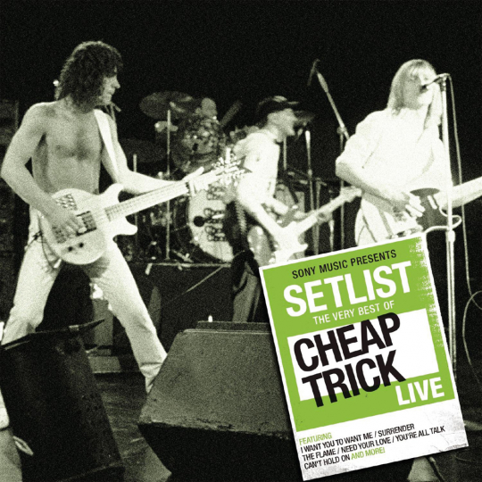 Cheap Trick. Setlist: The Very Best Of Cheap Trick Live. CD.