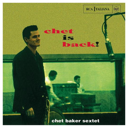 Chet Baker. Chet Is Back. CD.