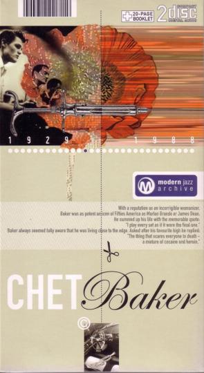 Chet Baker. Happy Little Sunbeam / A Dandy Line. Classic Jazz Archive. 2 CDs.
