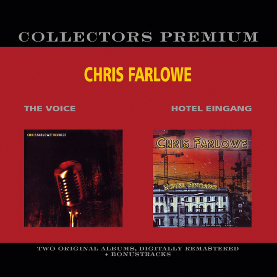 Chris Farlowe. The Voice / Hotel Eingang. 2 CDs.