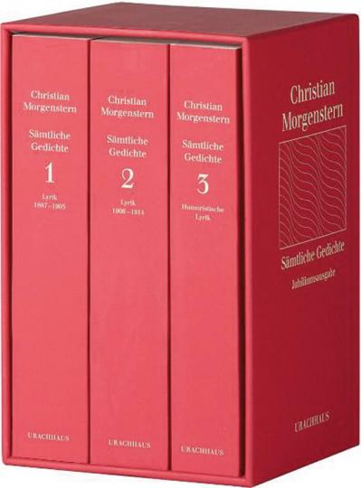 Christian Morgenstern. Sämtliche Gedichte. Jubiläumsausgabe in 3 Bänden.