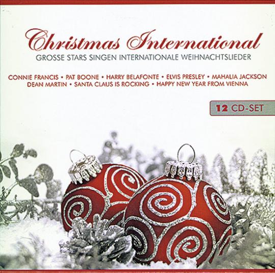 Christmas International. 12 CDs.