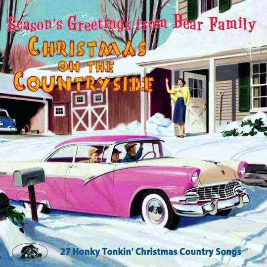 Christmas On The Countryside. 27 Honky Tonkin« Christmas Country Songs. CD.