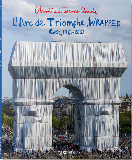 Christo and Jeanne-Claude. L'Arc de Triomphe, Wrapped.