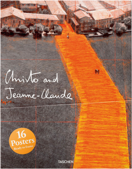 Christo and Jeanne-Claude. 16 Poster.