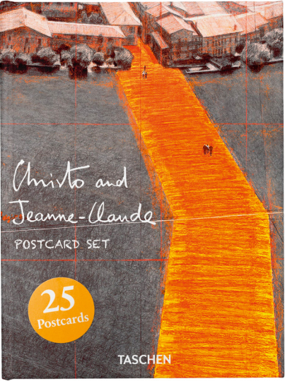 Christo and Jeanne-Claude. 25 Postkarten in Box.