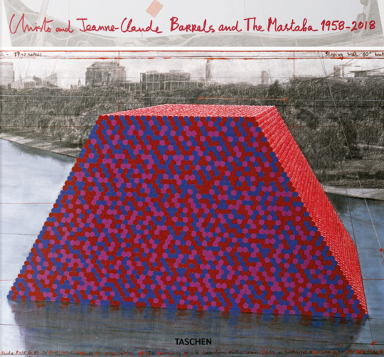 Christo and Jeanne-Claude, Barrels and The Mastaba 1958-2018.